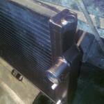 Изготовленный алюминиевый бачек на Ягуар