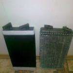 Изготовленный радиатор отопителя салона на Евро МАЗ