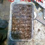 Радиатор печки до шамполения