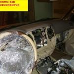 Разбор панели и чистка печки на ТЛК 100