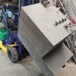 Изготовленный топливный бак спецтехники
