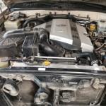 Изготовленный алюминиевый бачок на Lexus Lx 470