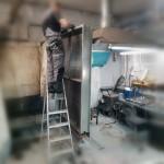 Ремонт радиатора приточной вентиляции